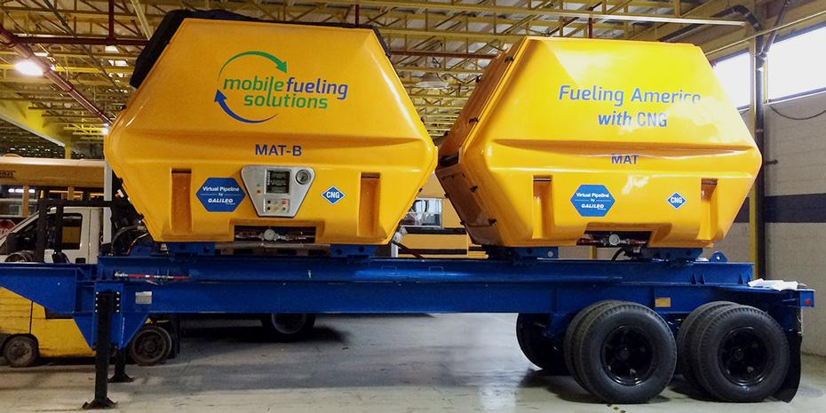 El Gasoducto Virtual diseñado para MFS es una estación móvil de GNC