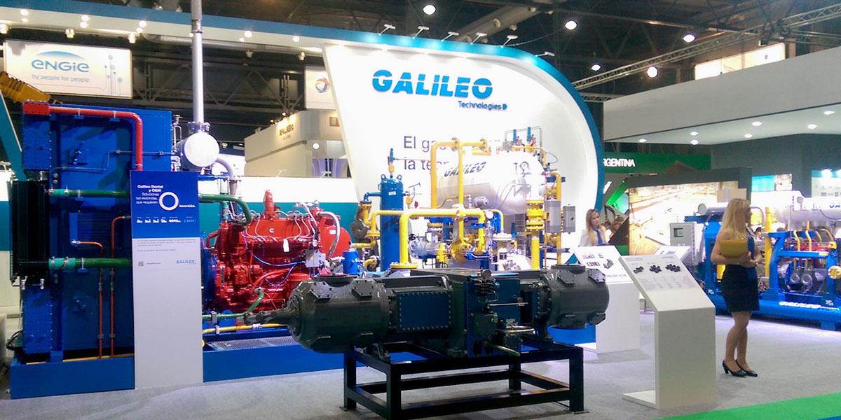 Galileo Technologies en la Argentina Oil & Gas Expo 2015