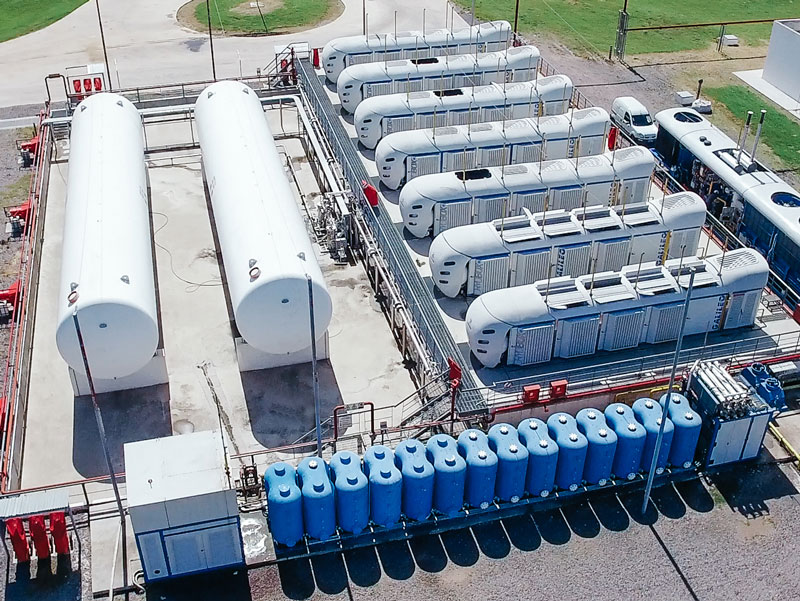 Small-Scale LNG Production Plant - Buquebus - Galileo - San Vicente