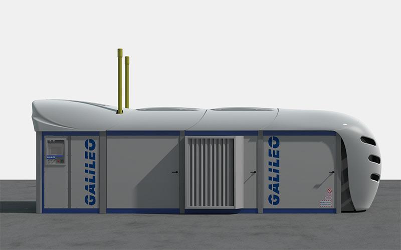 Paquete de Compresión de GNC/GNV Gigabox de Galileo Technologies
