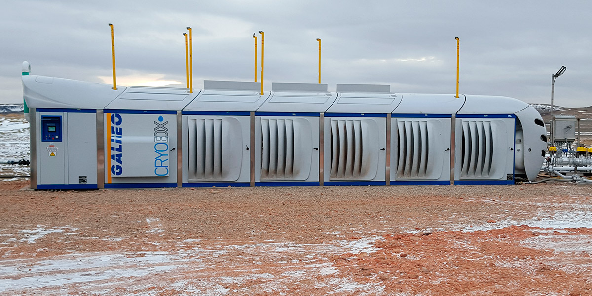 Estación Cryobox de Producción de GNL - Galileo Technologies