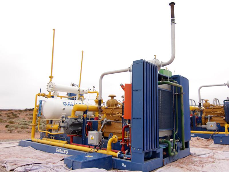 Paquete de compresión para Oil&Gas - MX 200