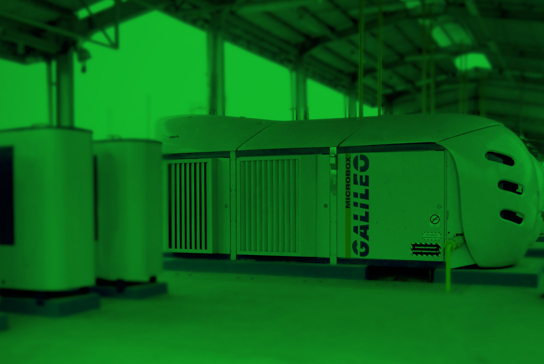 Biogas upgrading and biomethane compression package - Galileo Technologies