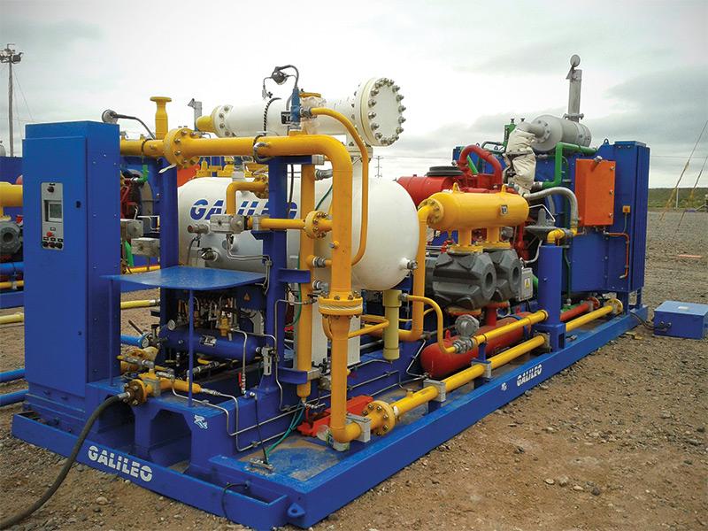 Paquete de compresión para Oil&Gas - MX 400