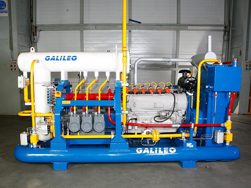 Nanoil compressor para reduzir a pressão em cabeça do poço - Galileo Technologies