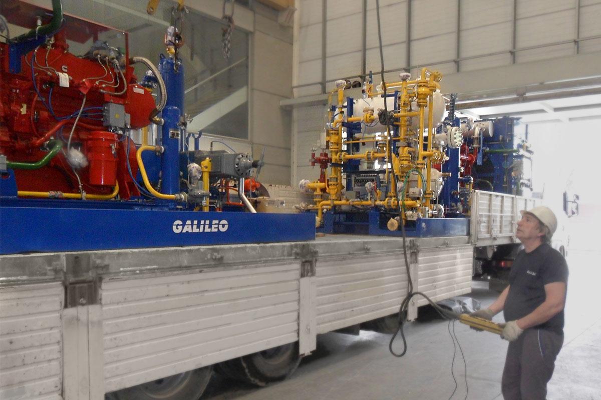 Compresores Gigabox Process para El Orejano - Compresion Distribuida