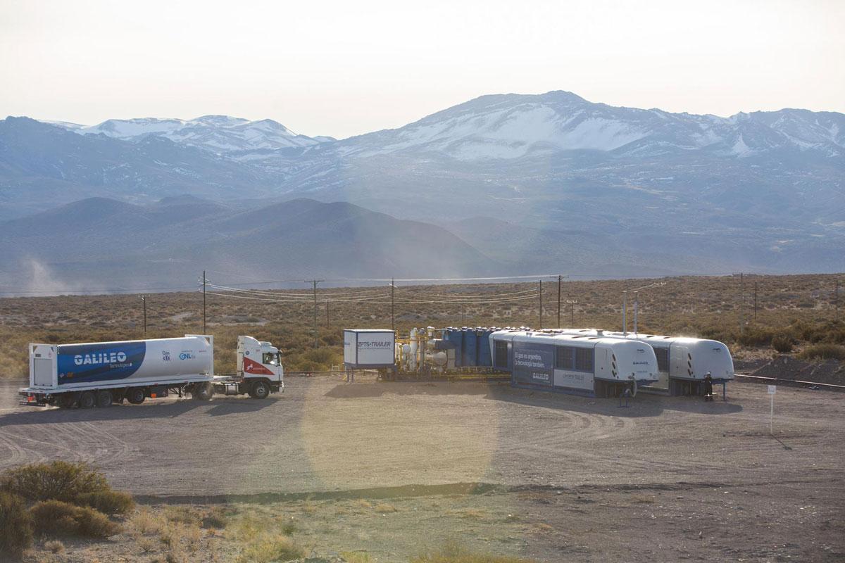 Gasoducto Virtual de GNL.