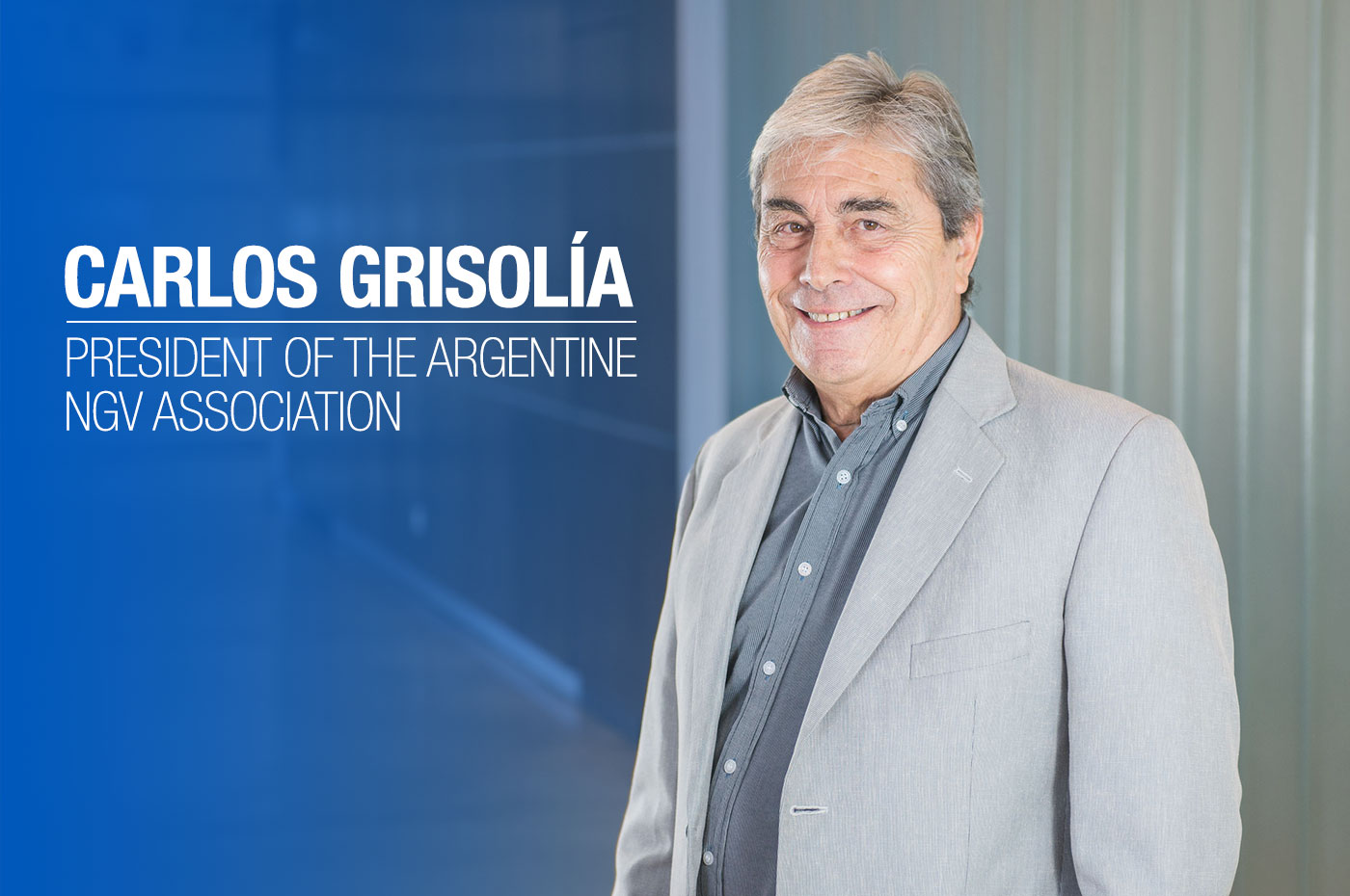 Carlos Grisolía - President of the Argentine NGV Association