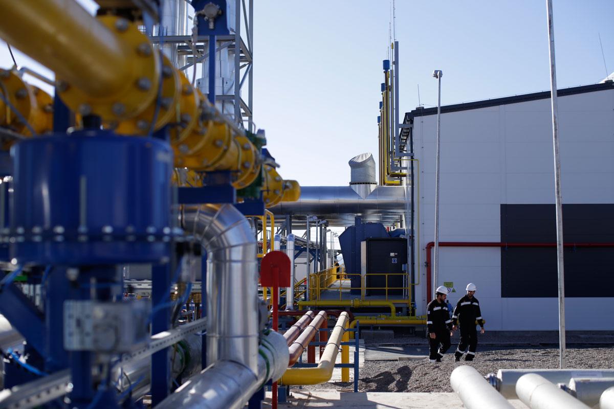 Central termoeléctrica a GNL de Anchoris