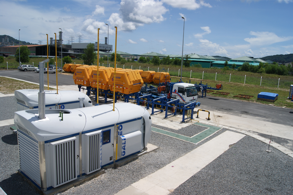 SEC's Virtual Pipeline Mother Station in Kota Kinabalu, Sabah, Borneo.