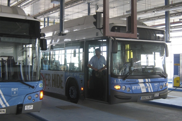 The CNG station can supply up to 400 buses in less than a three-hour and a half operation.