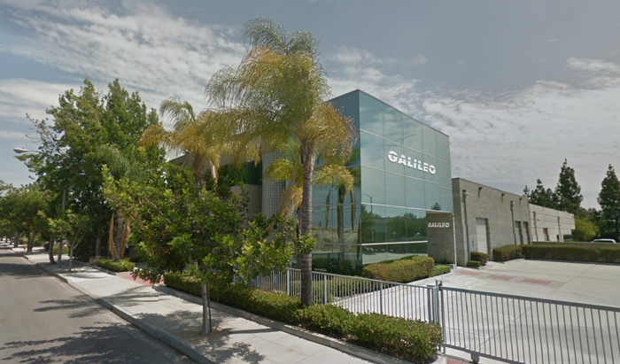 Galileo's global spare parts & training hub in the city of Los Angeles, California, USA.
