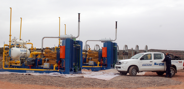 Microskid Process MX 200<sup>®</sup> compressors of 150 HP installed power, which will extend the service life of mature wells operated by YPF, the Argentine state-owned oil company, in the Loma de la Lata field, Neuquén Province, Argentina.