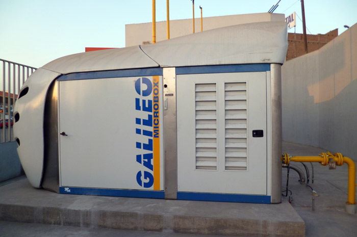 El compresor insignia de Galileo Technologies incorporará una planta reguladora de presión en su interior.