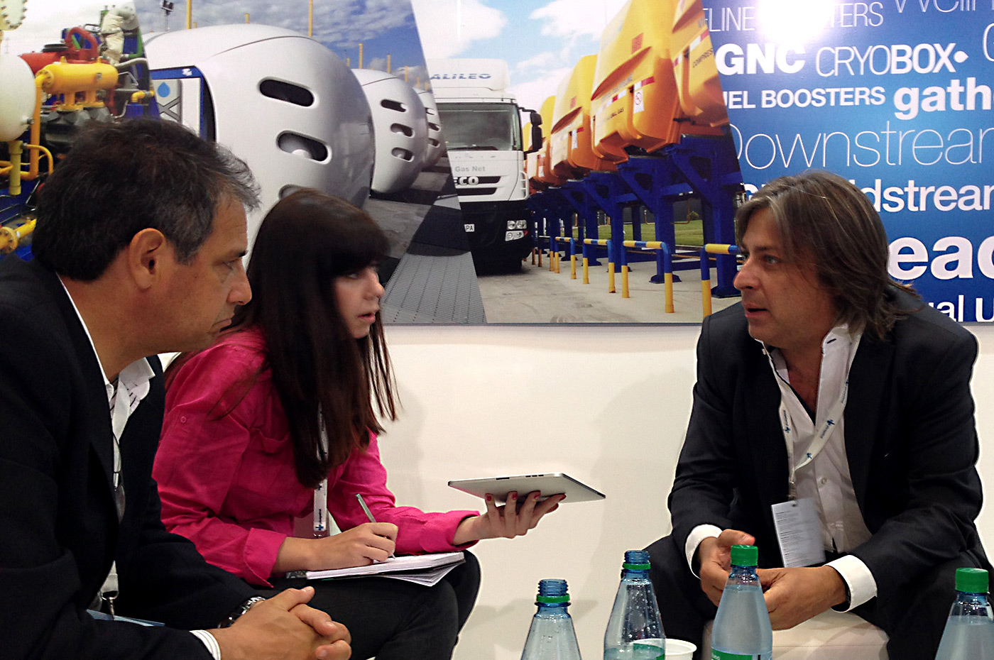 #AOG2015 - Osvaldo del Campo, CEO da companhia, durante a entrevista com a Revista Petroquímica.