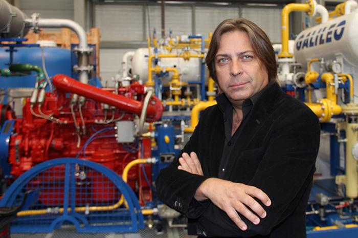 Osvaldo del Campo, Galileo Technologies CEO