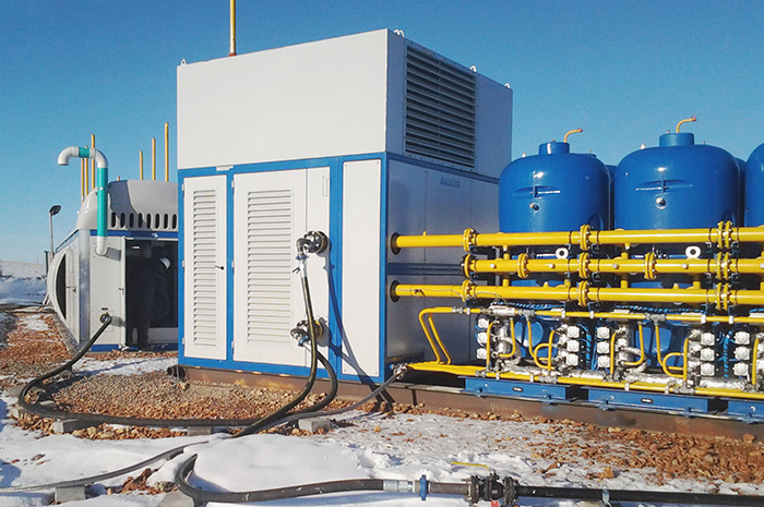 The ZPTS Gas Conditioning Plant is designed  for working with clusters of one or more Cryobox units. According to the characteristics of any available gas, a tailored conditioning system can be configured.