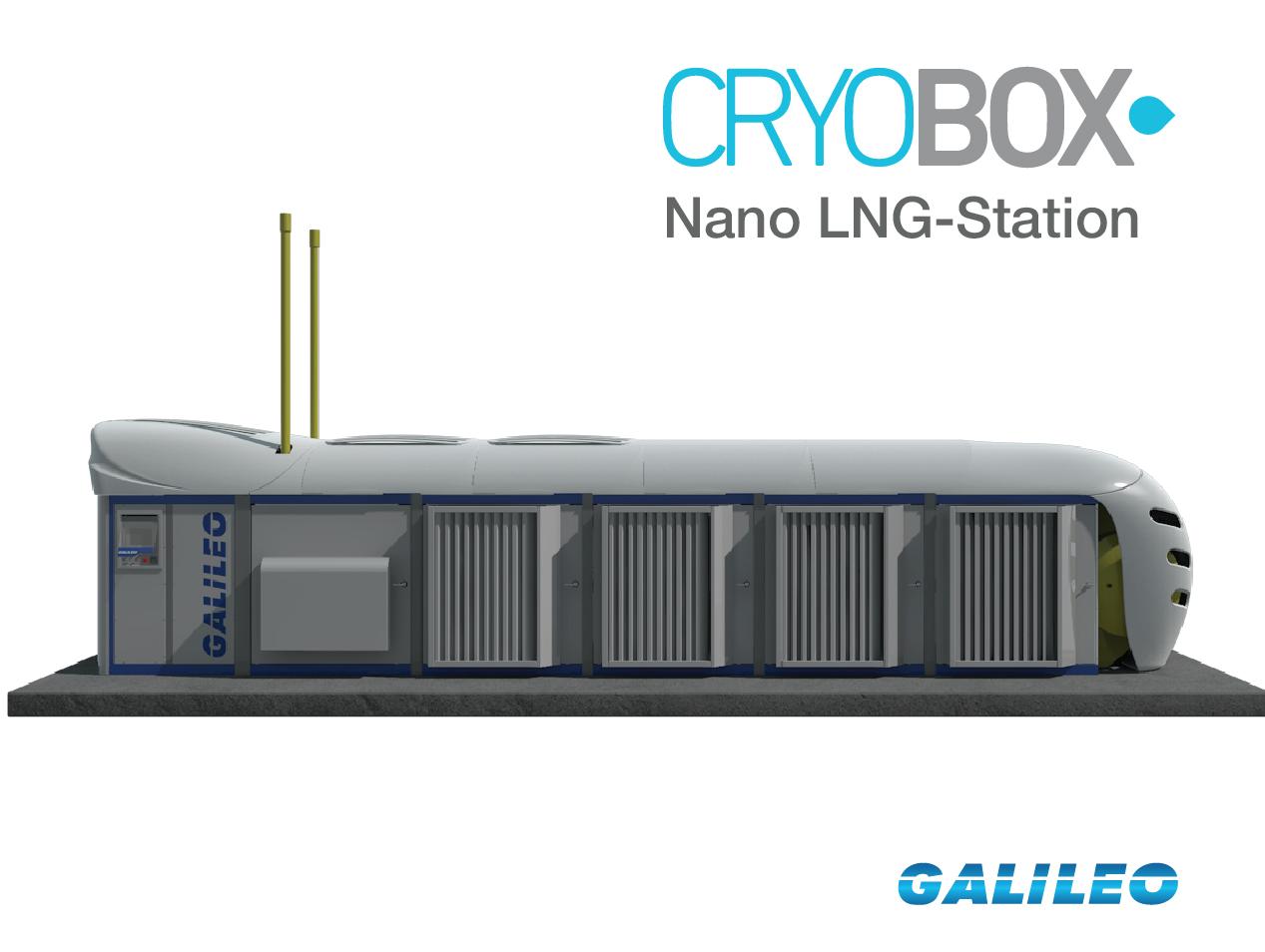 CryoboxLNG-Production Station.