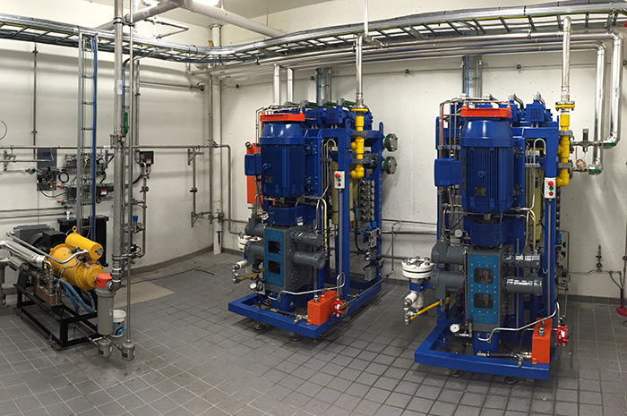 Nanobox units installed at the Hias IKS waste recycling facility located in Hamar to produce Compressed Biogas (CBG) by utilizing the biogas originated in the sewage sludge during the wastewater treatment process.