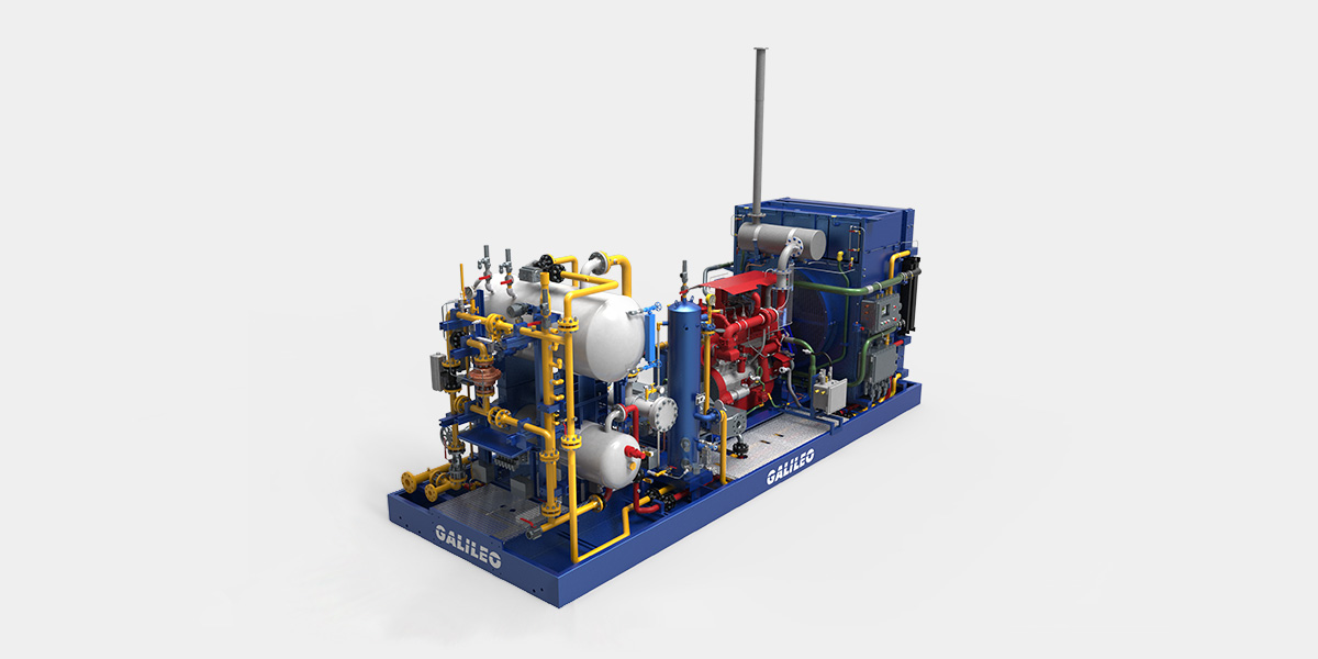 MX 200 Gas Compression Package - Galileo Technologies