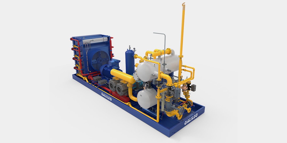 MX 400 Gas Compression Package - Galileo Technologies